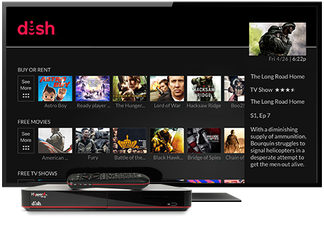 Ondemand TV from DISH | Jay D's Satellite